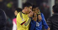 Nach Kopfstoß und Platzverweis: Das flüsterte James Rodriguez Neymar ins Ohr
